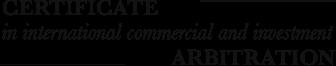 Arbitration Certificate